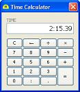 Time Calculator (version 5.3)